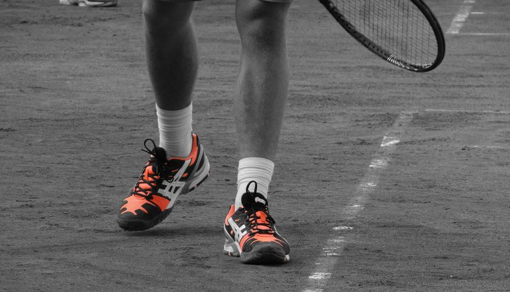 Die richtige Sohle für den Tennisplatz