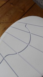 Indoor Tennisschuhe mit glattem Profil