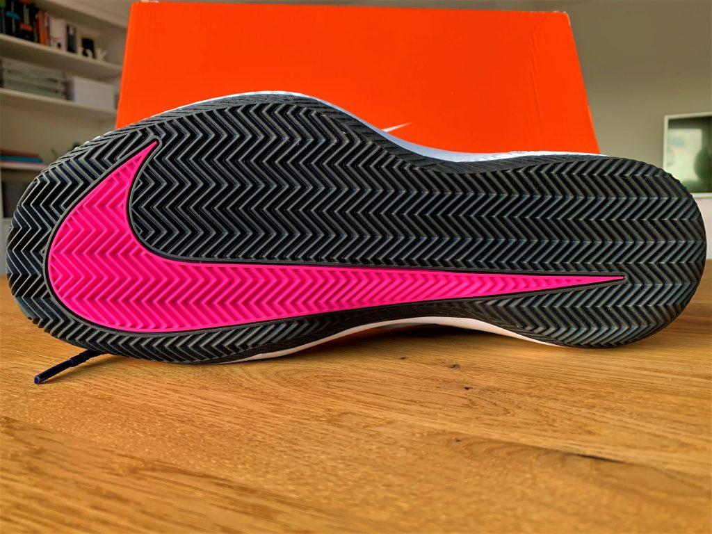 Nike Zoom Vapor X Sohle ist haltbarer